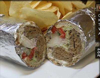 Kubideh Kabob Sandwich