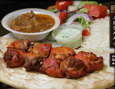 A-8 Bone-In Chicken Kabob