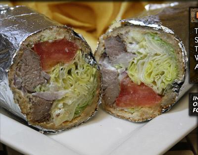 K-2 Lamb Kabob Sandwich
