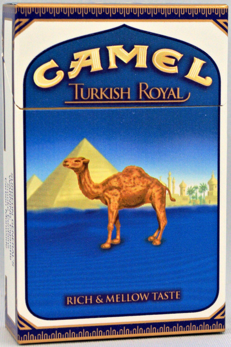 Camel Cigarettes Turkish Gold