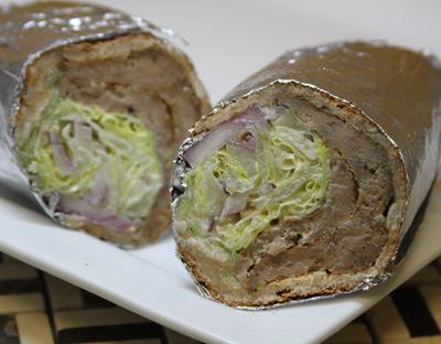 K-4 Famous Gyro Sandwich