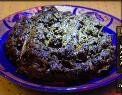 Sabzi - Fried Spinach