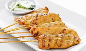 A9. Chicken Satay