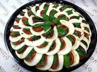 Mozzarella Caprese - Platter