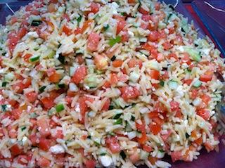 Mediterranean Orzo (Vegetarian)