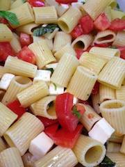 Pasta Bruschetta (Vegetarian)
