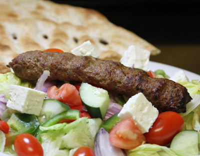 S-7 Shami Kabob Salad