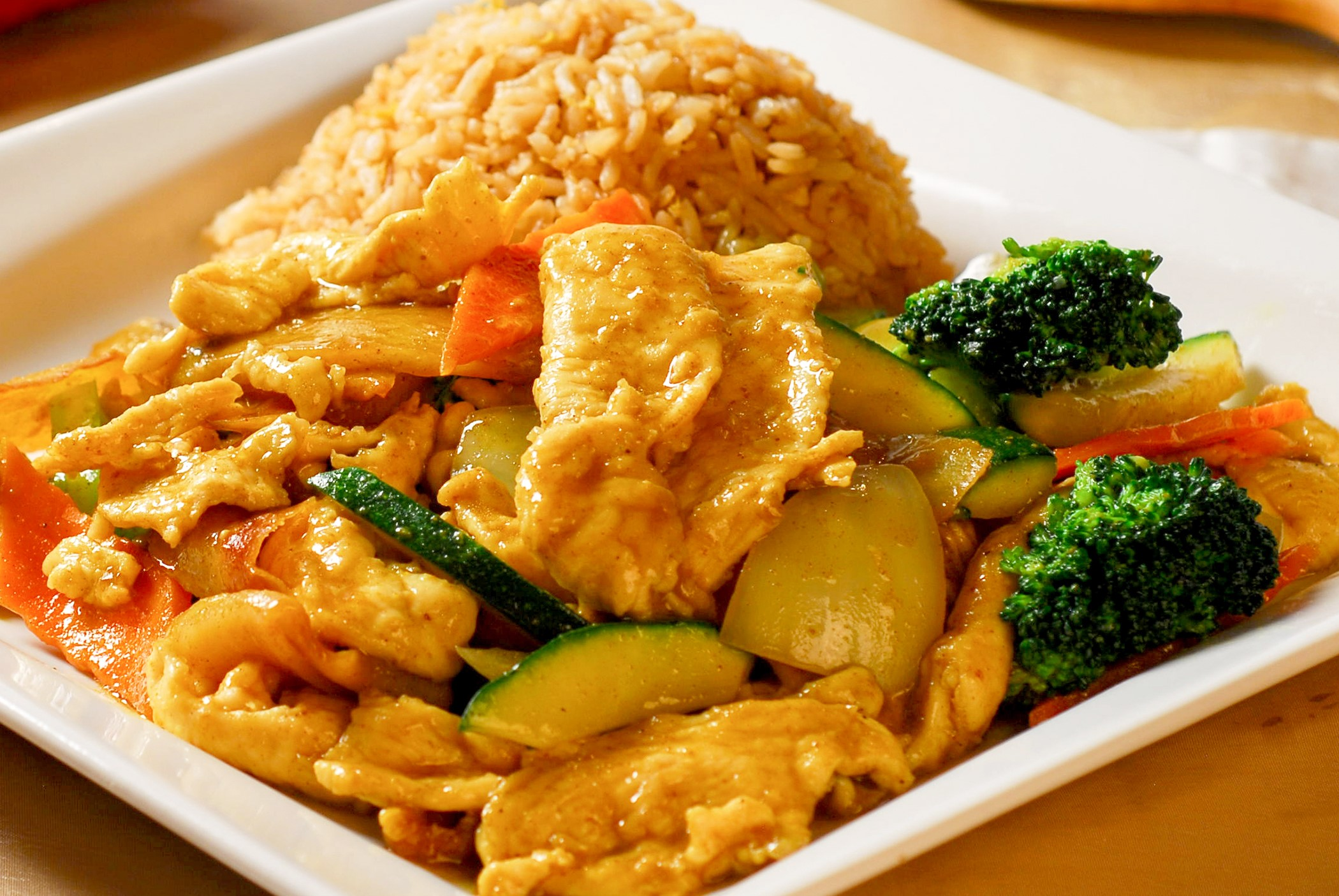 Curry Chicken **