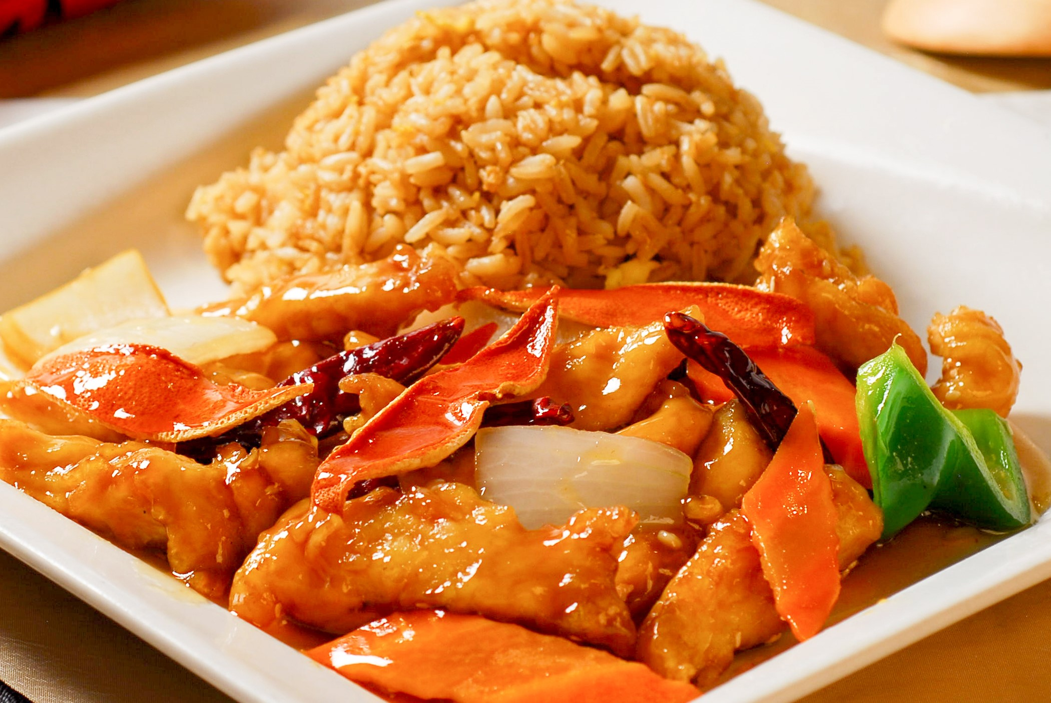Orange Peel Chicken **