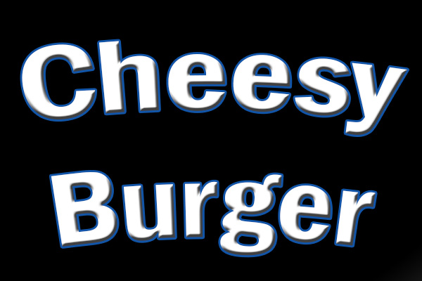 Cheesy Burger