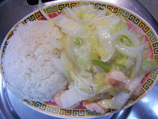 H3. Shrimp Chow Mein