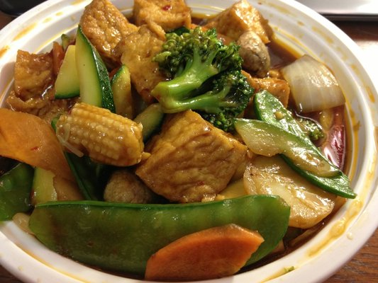 Tofu w. Mix Vegetable
