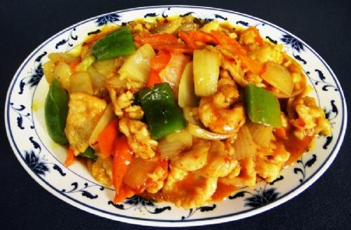 H12. Curry Chicken