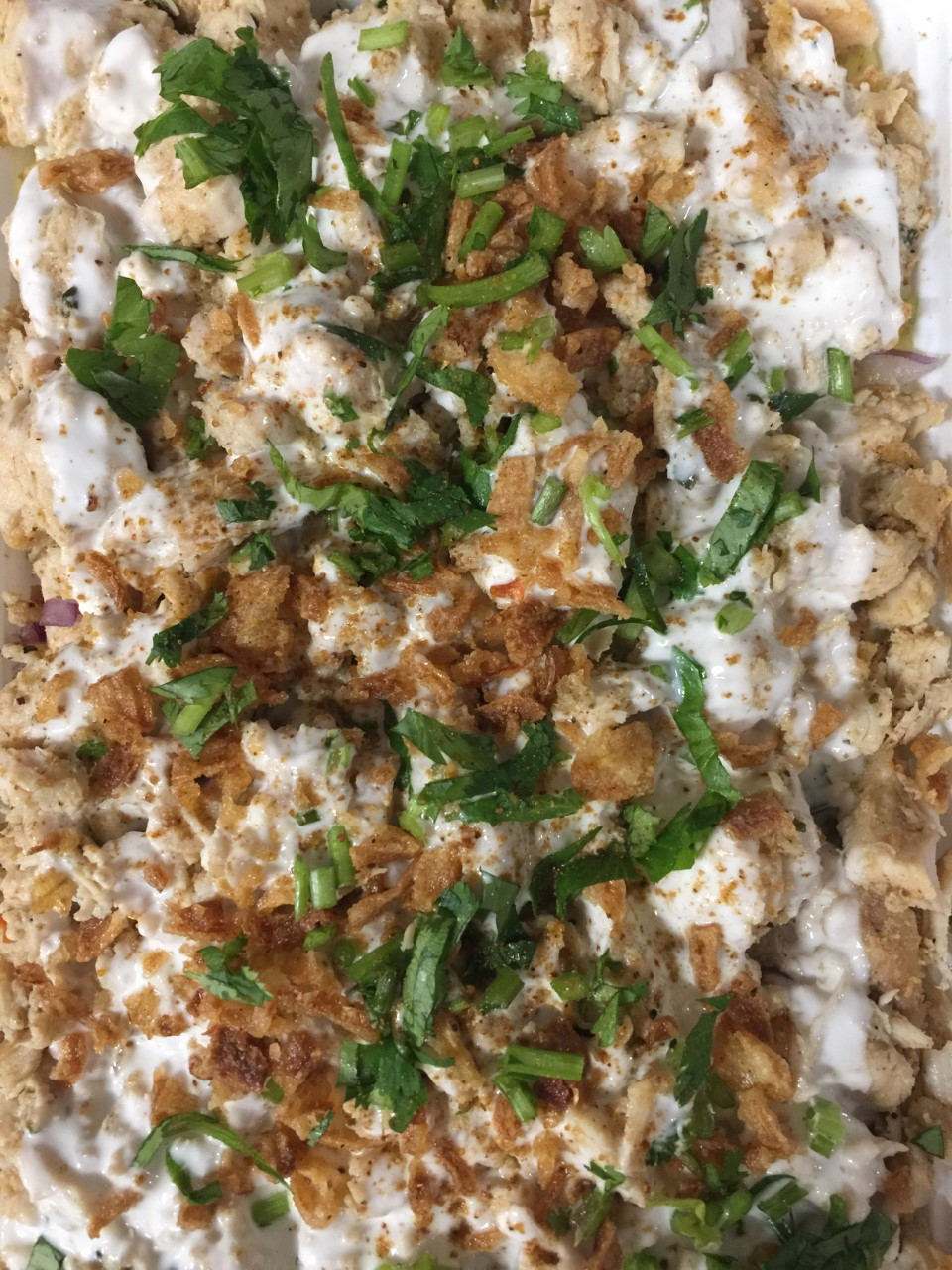 Chicken Shawarma Over Rice