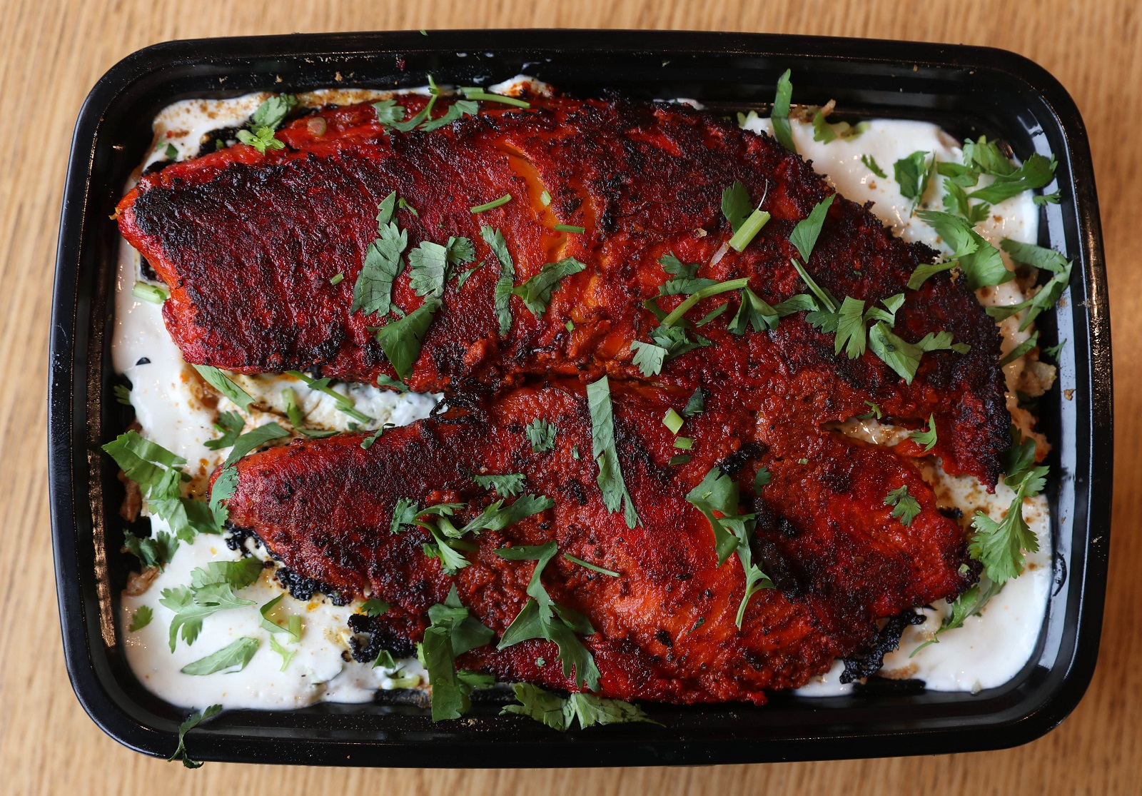 Tandoori Fish Over Rice