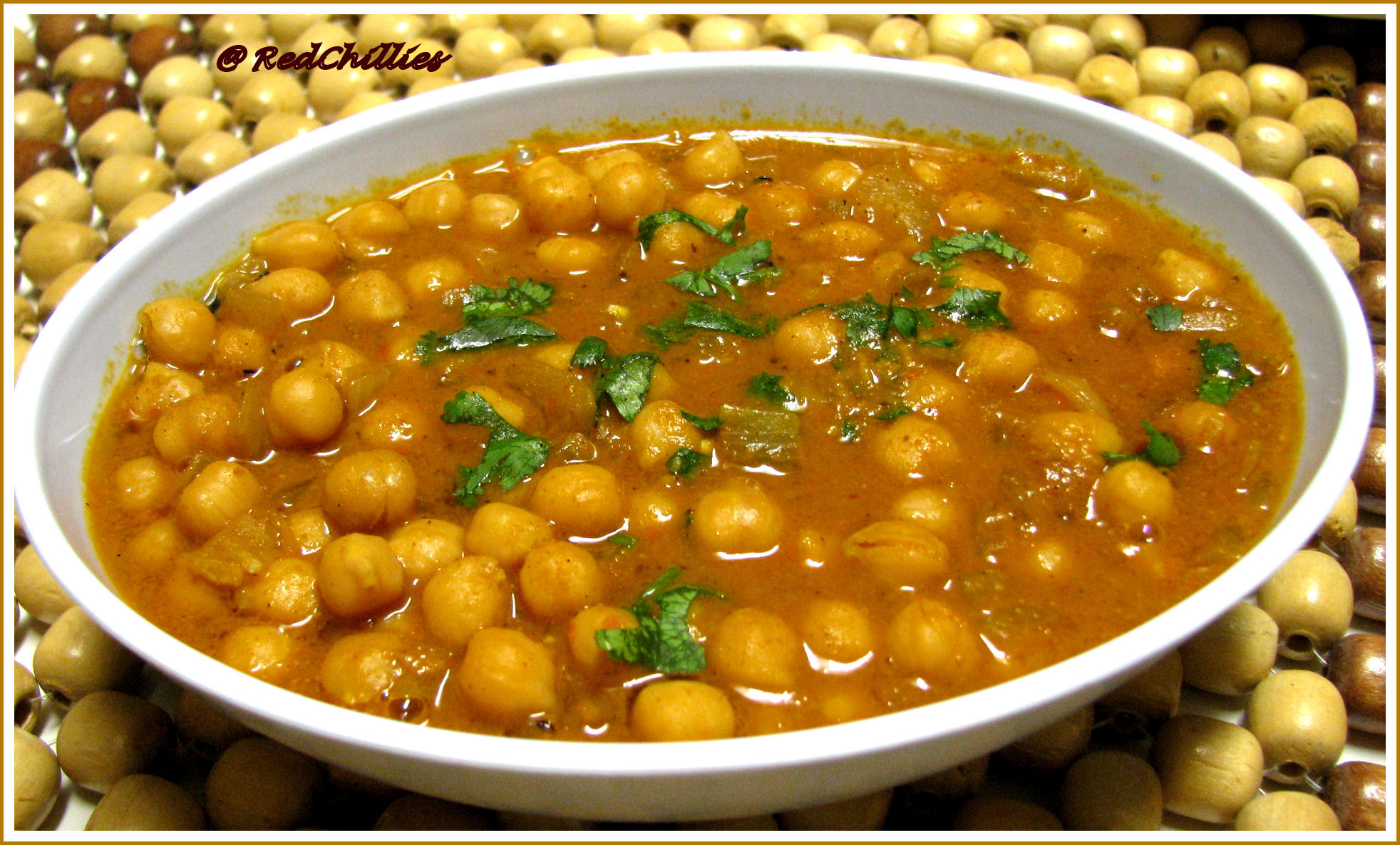 Chana Masala (chickpeas) Vegetarian