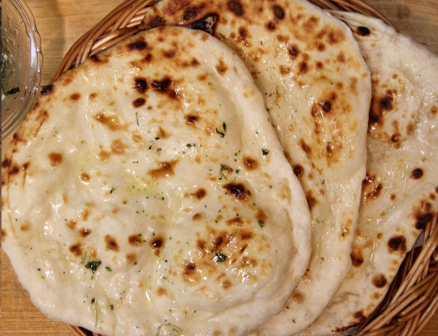 Cheese + Garlic + Naan
