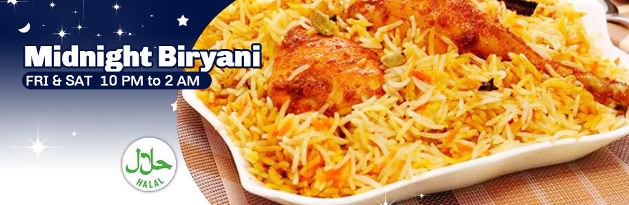 MIDNIGHT BIRYANI