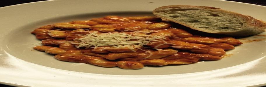 Gnocchi with tomato vodka cream sauce