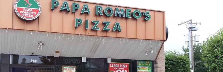 Welcome to Papa Romeo's