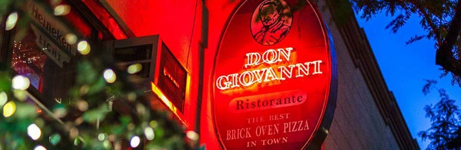 WELCOME TO DON GIOVANNI'S